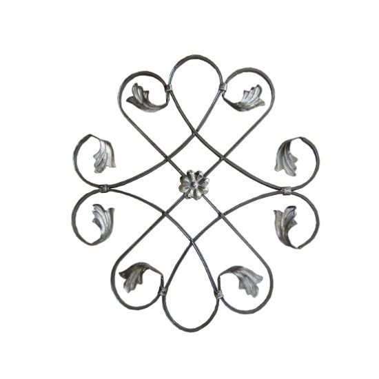 Орнамент от ковано желязо - 10-025