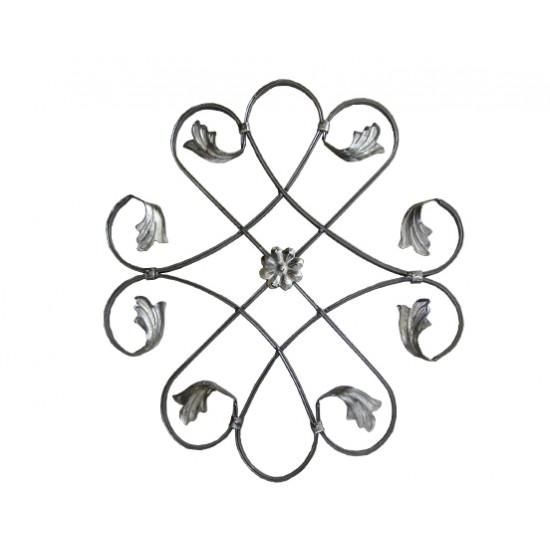 Орнамент от ковано желязо - 10-025А