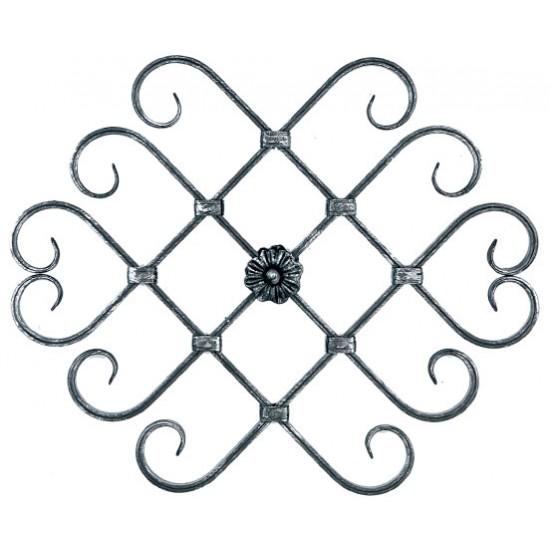 Орнамент от ковано желязо - 10-045